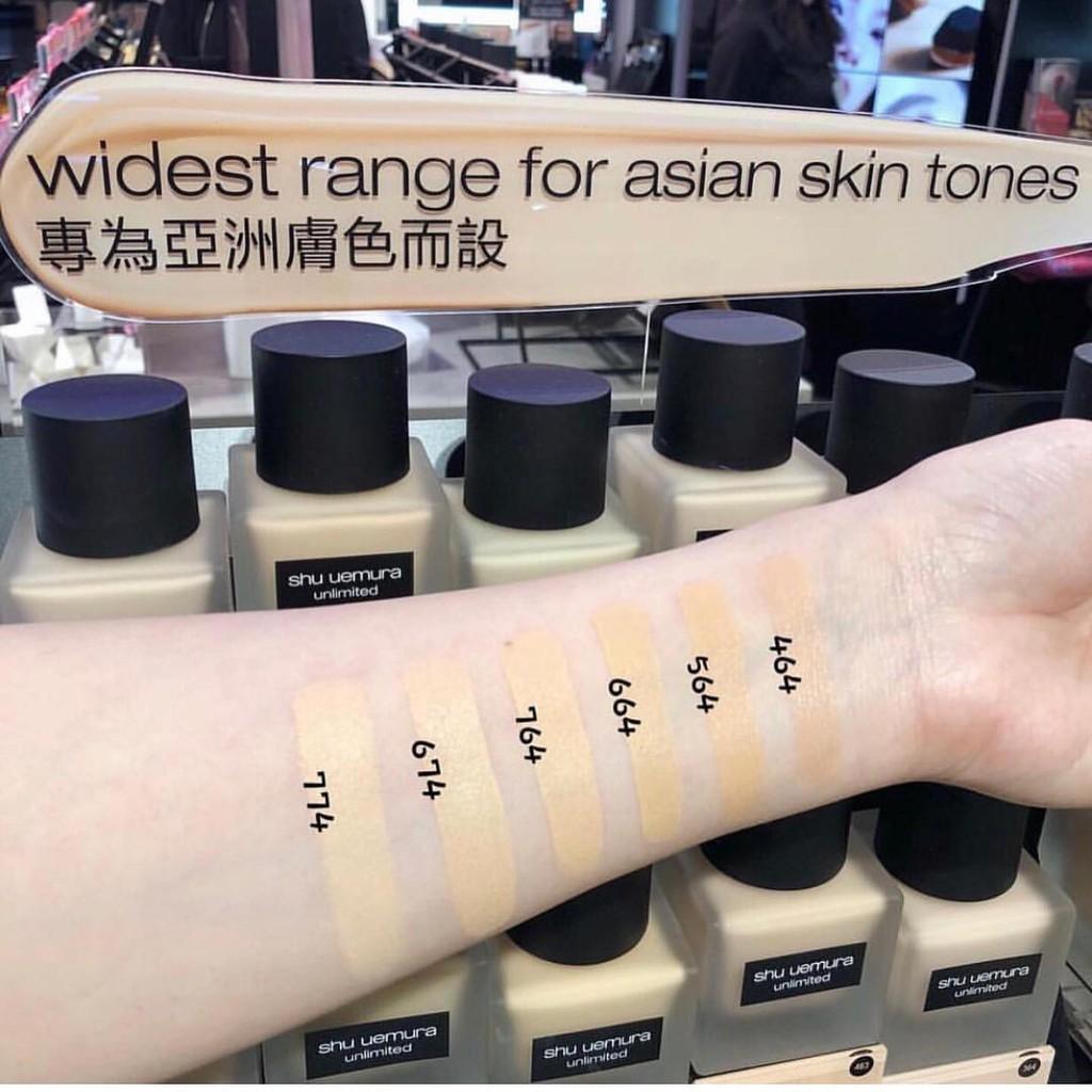 shu uemura unlimited breathable lasting foundation 35 ml. | Shopee Thailand