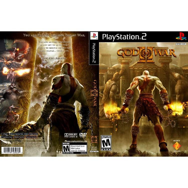 GOD OF WAR 2 [PS2 US : (Rip) DVD5 1 Disc]