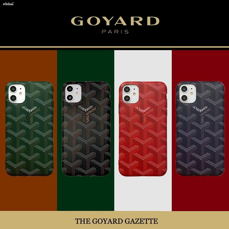 Fashion iPhone 11 Case full cover Creative Tide brand Goyard Matte Frosted casing Soft TPU 11Pro XS Max XR X 8Plus 7 6