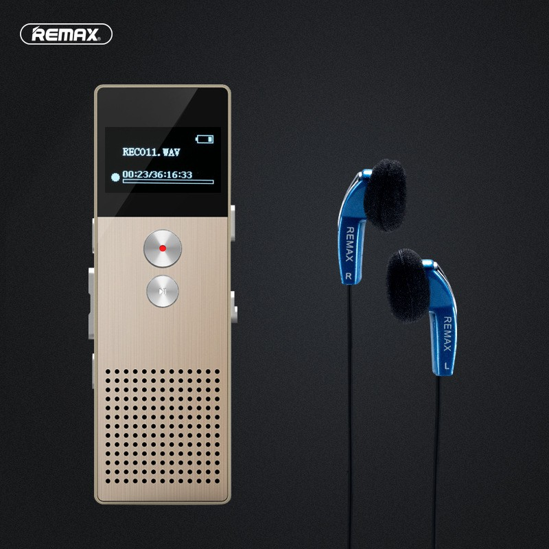 Remax Rp1 เครื่องบันทึกเสียง Voice Recorder 8gb.