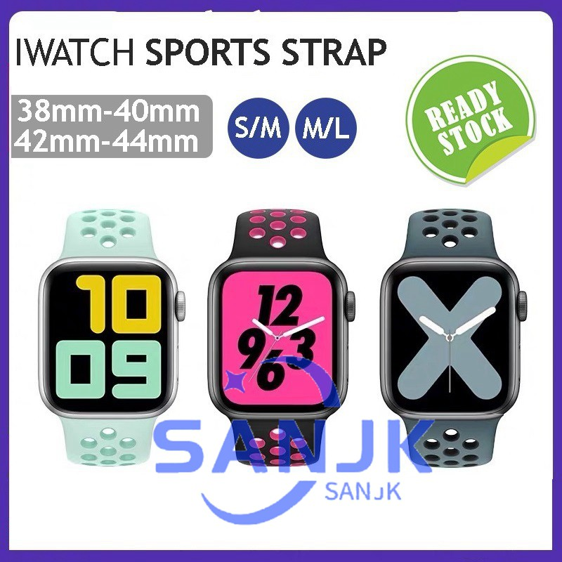 Apple watch strap nike suitable for Apple Watch Series 6 / 5 / 4 / 3 / 2 / 1 Nike iwatch SE Series Strap