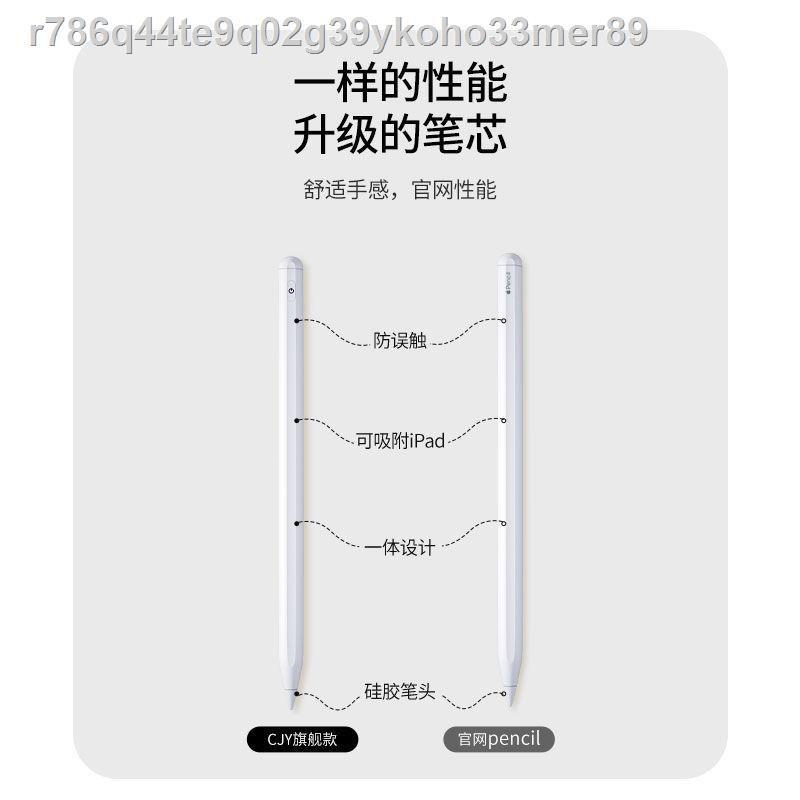 🔥เทน้ำเทท่าv👍∏ApplePencil ป้องกันหน้าจอสัมผัสที่ไม่ถูกต้องปากกา capacitive ipad แท็บเล็ต Apple สัมผัสบันทึกด้วยลายมื1