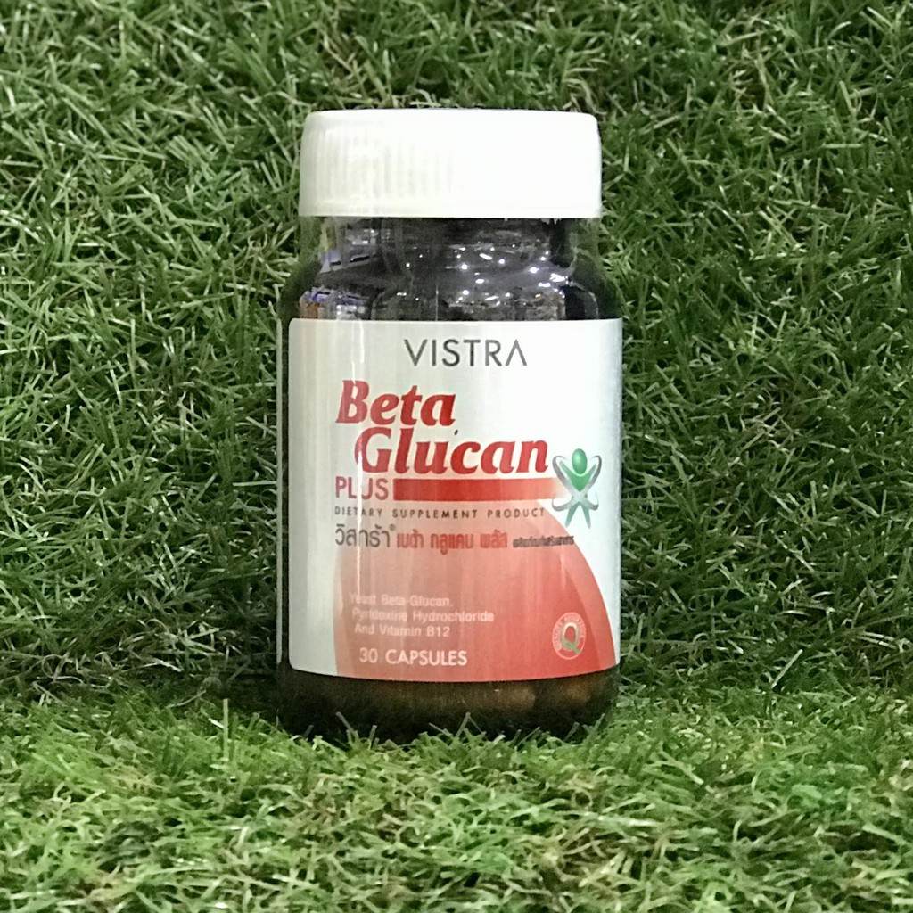 VISTRA BETA GLUCAN PLUS 30'S