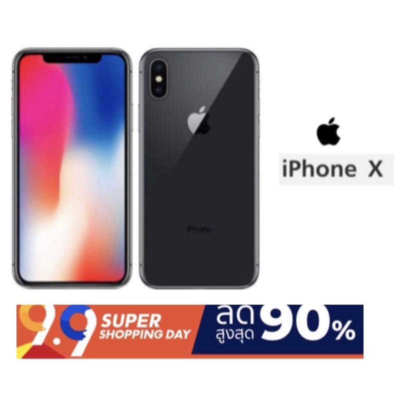 iPhone X (64GB)เครื่องแท้ศูนย์ มือสองสภาพสวย