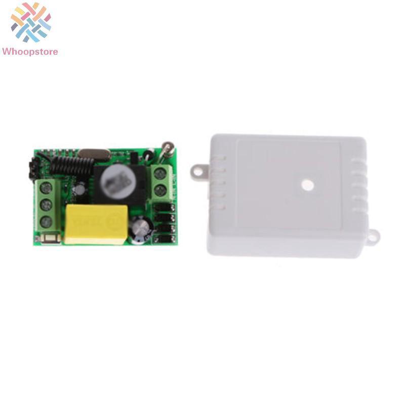 315//433MHz 1//2//4CH DC12V AC220V Wireless RF Remote Control Receiver Relay Switch