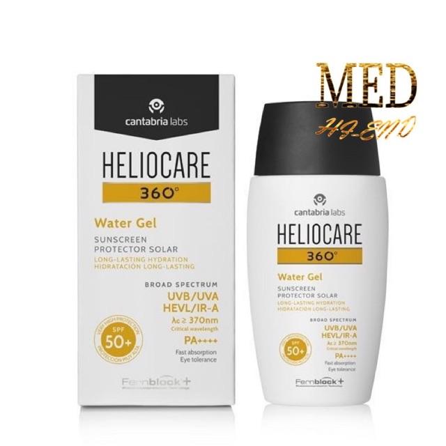 พร้อมส่ง ใหม่! Heliocare360 Water Gel SPF50+ ปกป้องครบทุกรังสี บางเบาดุจน้ำ กันน้ำ กันPM2.5 ไม่อุดตันใช้ได้ทุกสภาพผิว