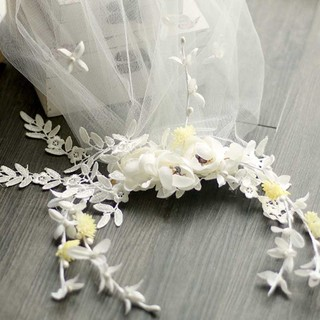 New Arrival leaves and Flower Bridal Veils Amazing Lovely Wedding Accessories