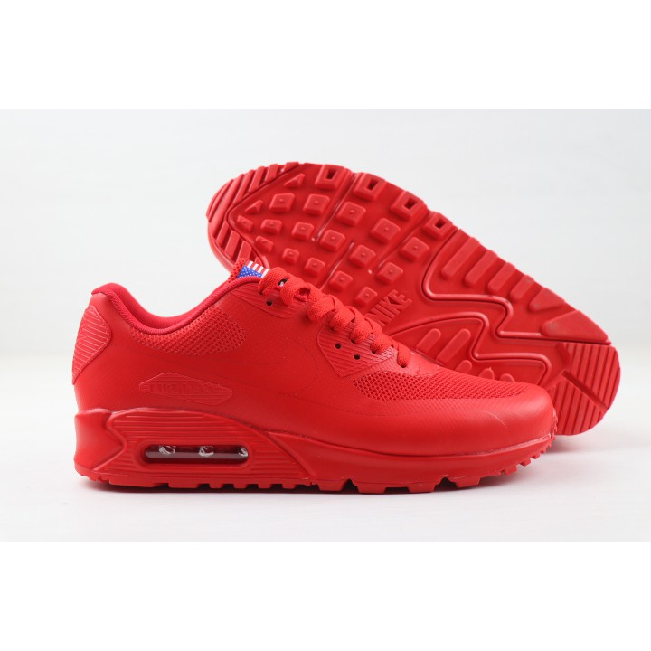 NIKE (ไนกี้) AIR MAX 90 Hyp Men Shoes สีแดง Sneakers 40-46