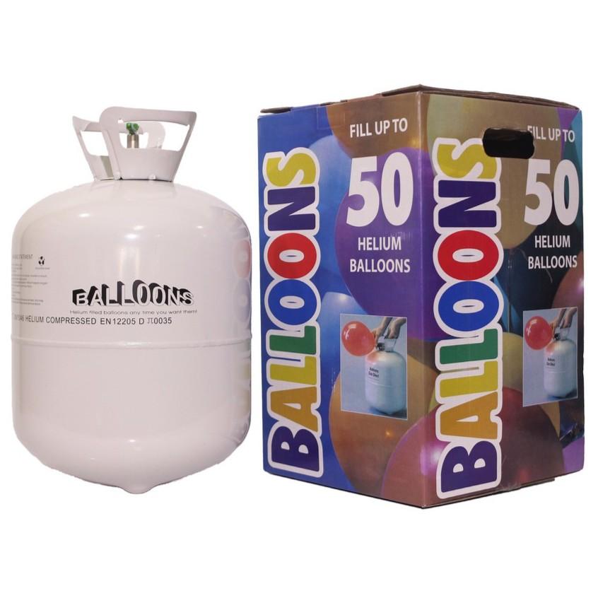 UMEGA ถังแก๊สฮีเลียมลูกโป่ง (ขนาดบรรจุ 50 ลูก) BL-50