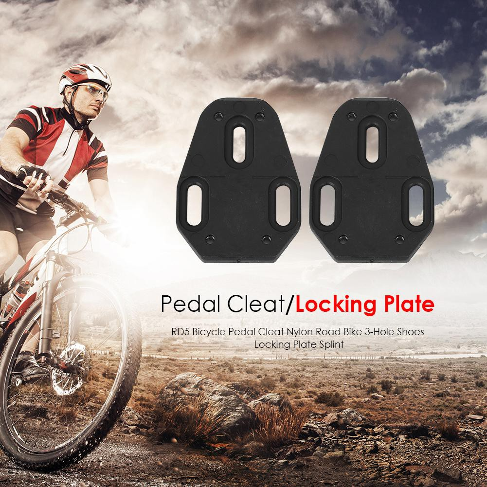 cbf3eb163c1 ✮Bicycle Self-Locking Pedal Cleat 4.5 Degree Road Bike Plate Pedal Cycling  Cleat