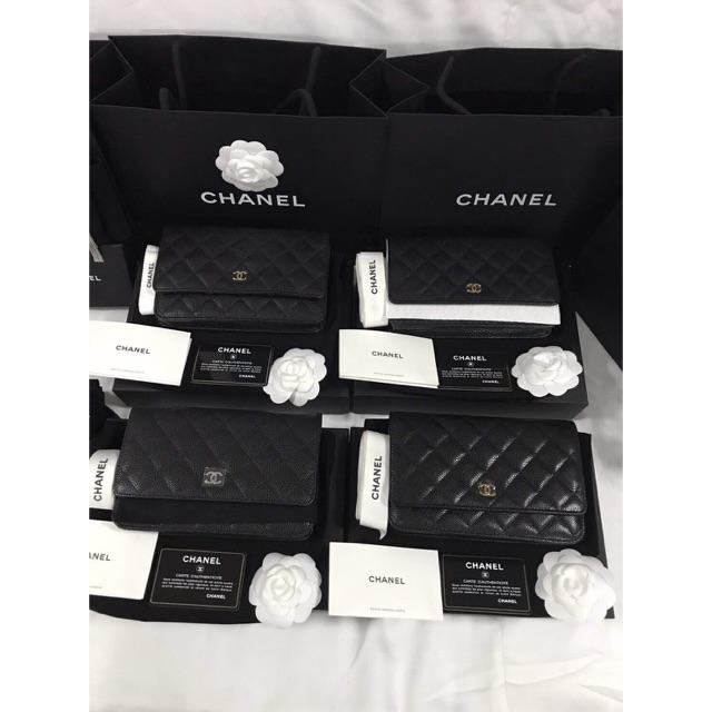กระเป๋า CHANEL woc Holo24 แท้ มือ1