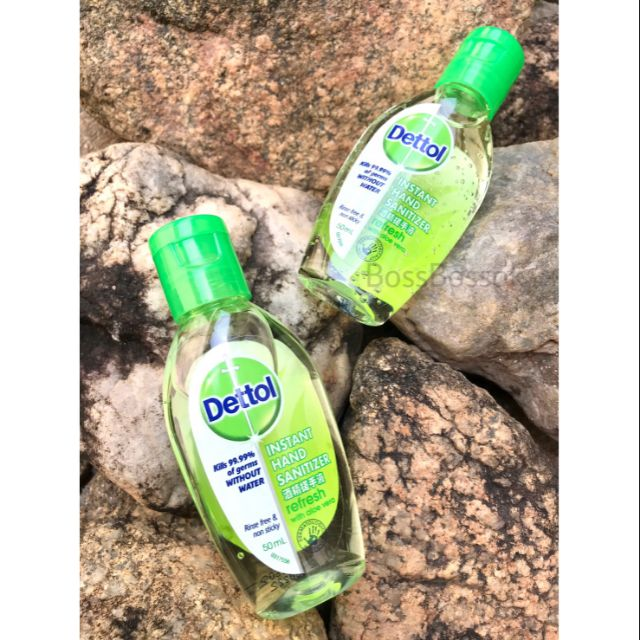 Dettol เจลล้างมือ เดทตอล ขนาด 50ml