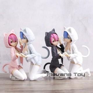 Anime Re Zero kara Hajimeru Isekai Seikatsu Rem Ram Plush Doll Dakimakura Toys