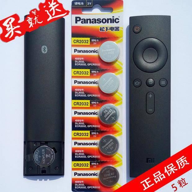 ถ่านCR20323V 5 ชิ้น Xiaomi กล่องรีโมทคอนโทรลแบตเตอรี่ปุ่ม 3v เดิมปุ่มกุญแจรถทีวีอิเล็กทรอนิกส์พานาโซนิค cr2032
