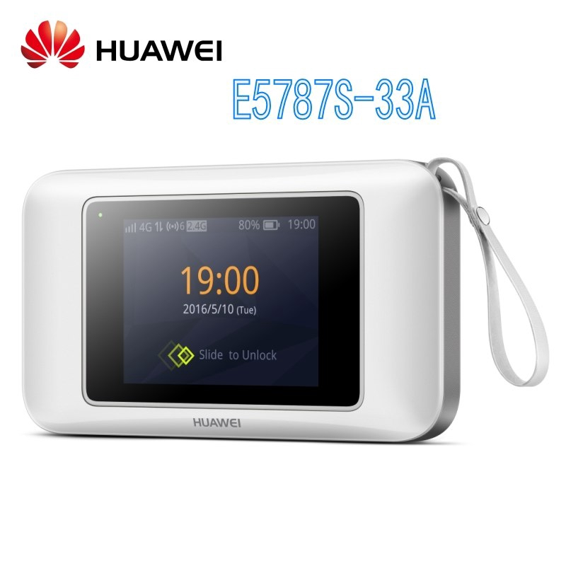 Unlocked Huawei E5787S-33A 300mbps 4g lte router Cat6 WiFi Router with SIM  card slot E5787 hotspot