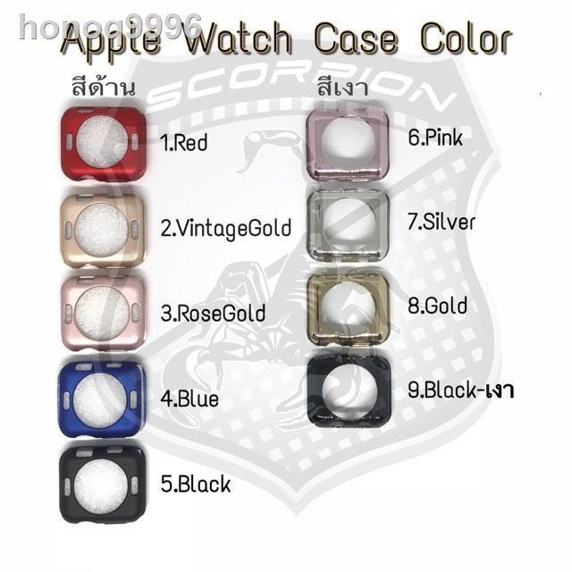 [มีสินค้า]✘เคส Apple Watch 40 mm Silicone Case เคสสีแบบนิ่ม