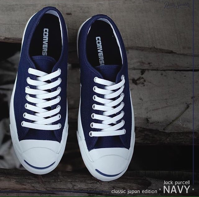 32eb2df33532 Converse Jackpurcell Classic NAVY (Japan Edition)