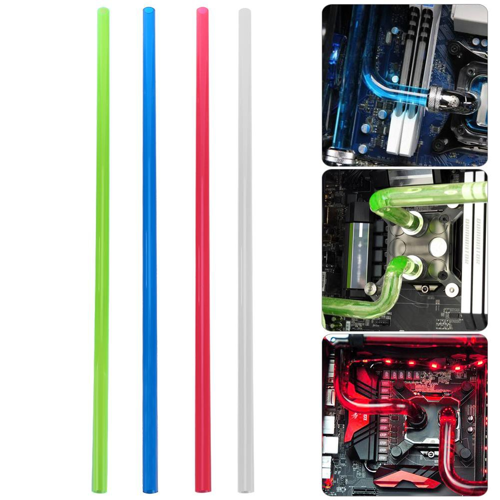 PETG 10x14mm 500mm Rigid Tube Hard Horse Tubing for PC Water Cooling System