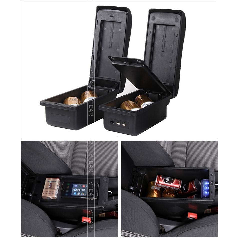 Armrest Storage Box for Suzuki SX4 S-Cross 2014 2015 2016 2017 Organizer Tray