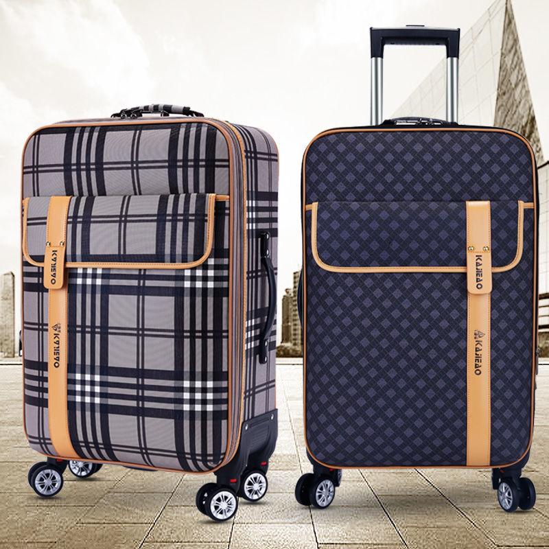 กระเป๋าเดินทางมีล้อเลื่อน 24 นิ้ว