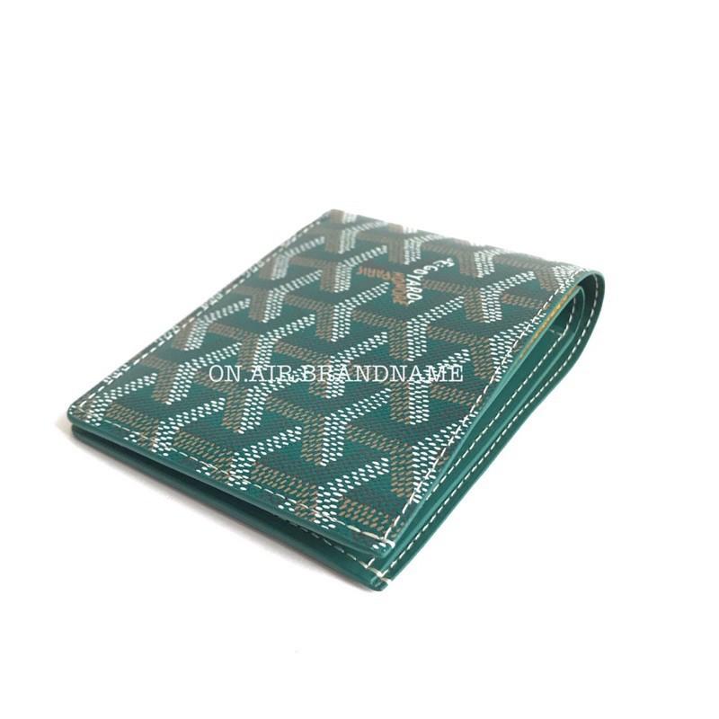 New goyard wallet สีเขียวหายาก สวยมาก