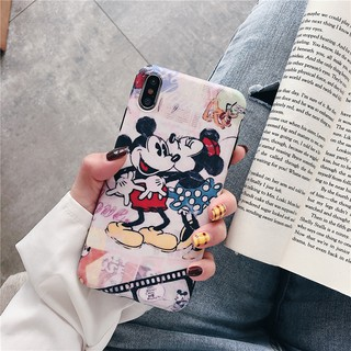 Image # 7 of Review เคสไอโฟน iPhone X XS Max XR iPhone 7 8 Plus iPhone 6 6S Plus Cartoon Mickey & Minnie Matte Soft Case