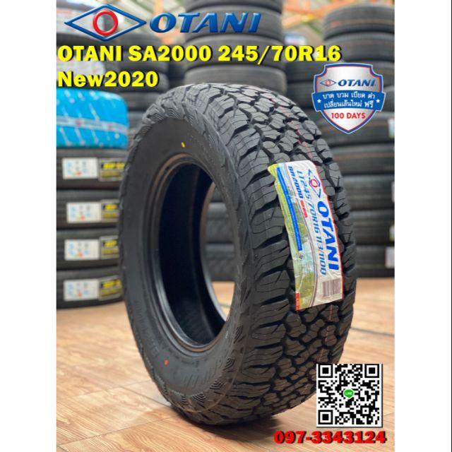 ยาง OTANI SA2000 245/70R16 จัดส่งฟรี