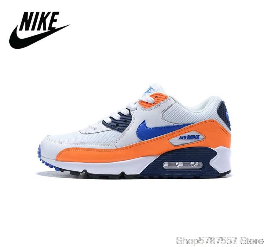 NIKE AIR MAX 90 Ultra  two-layer leather men's running shoes sports shoes Size 40-45 Nike Airmax 90 Men Sneaker