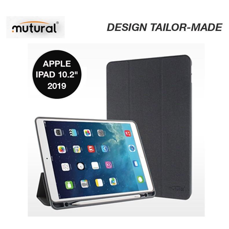 ✅🌼🔥☂♛﹊Mutural iPad Case With Apple Pencil Holder เคสไอแพตแบบมีฝาปิด ใส่ปากกาได้ สำหรับ Apple iPad 10.2 2019