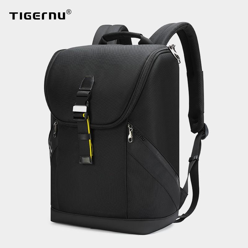 Tigernu กระเป๋าเป้สะพายหลัง กันน้ำ RFID กันการโจรกรรม พกพาเดินทาง สำหรับผู้ชาย (15.6นิ้ว) 3962