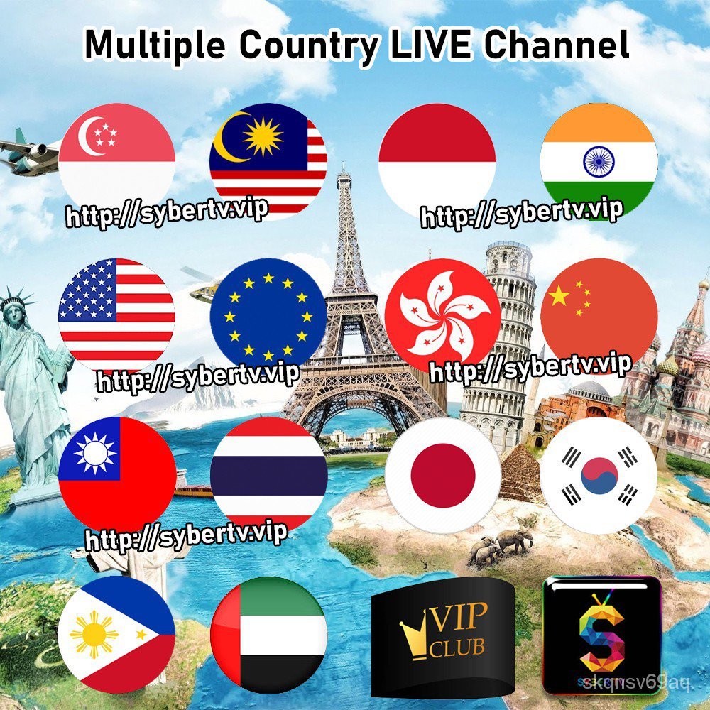 Md47 Syber Tv / Sybertv / Syber Iptv Vvip Multiple Device Apk For Android Tvbox Mobile Phone Tablet Pc All Platform.