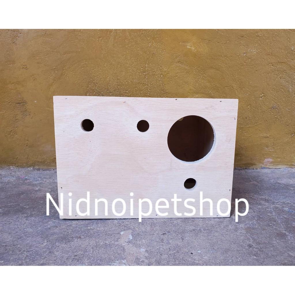 ☬☢☸กล่องเพาะนก(กล่องหงส์หยก )รังเพาะนก กล่องนอน บ้านนก หงส์หยก เลิฟเบิร์ด ค็อกคาเทล ฟอพัส ฟินซ์ ราคาโรงงานเลยจ้า