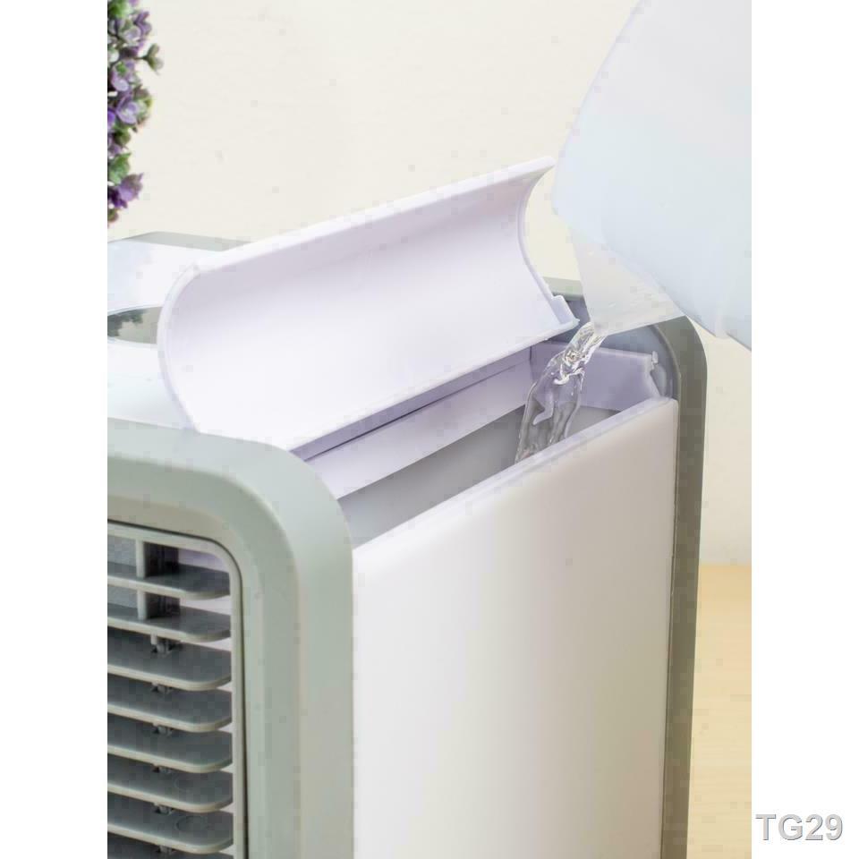 ❉✓﹍ARCTIC AIR พัดลมไอเย็นตั้งโต๊ะ พัดลมไอน้ำ พัดลมตั้งโต๊ะขนาดเล็ก เครื่องทำความเย็นมินิ แอร์พกพา Evaporative Air-Cooler