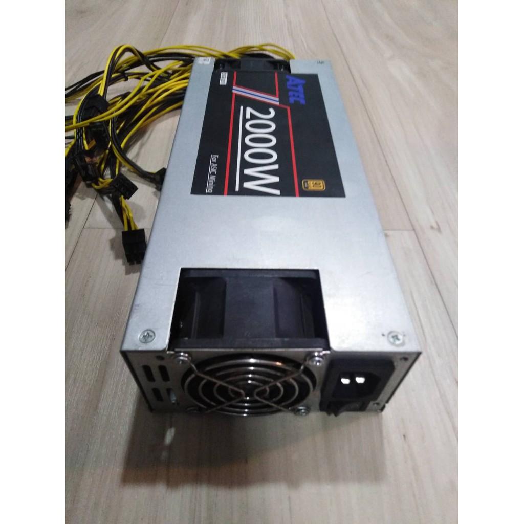 DIY¤☬✤Mojojojoe : Power Supply สำหรับเครื่องขุดเหรียญ คริปโตเคอเรนซี่  ASIC (For Cryptocurrency Miner) 2000 Watt *ผ่าน