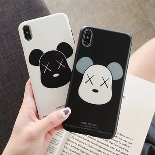 Review Xiaomi Mi 6 8 9 SE Mi6 Mi8 Pro Mi9 Mi8 Lite Mix 2s Play A1 A2 Note 3 Redmi Note 7 Phone Case Cartoon Bear IMD Soft Cover