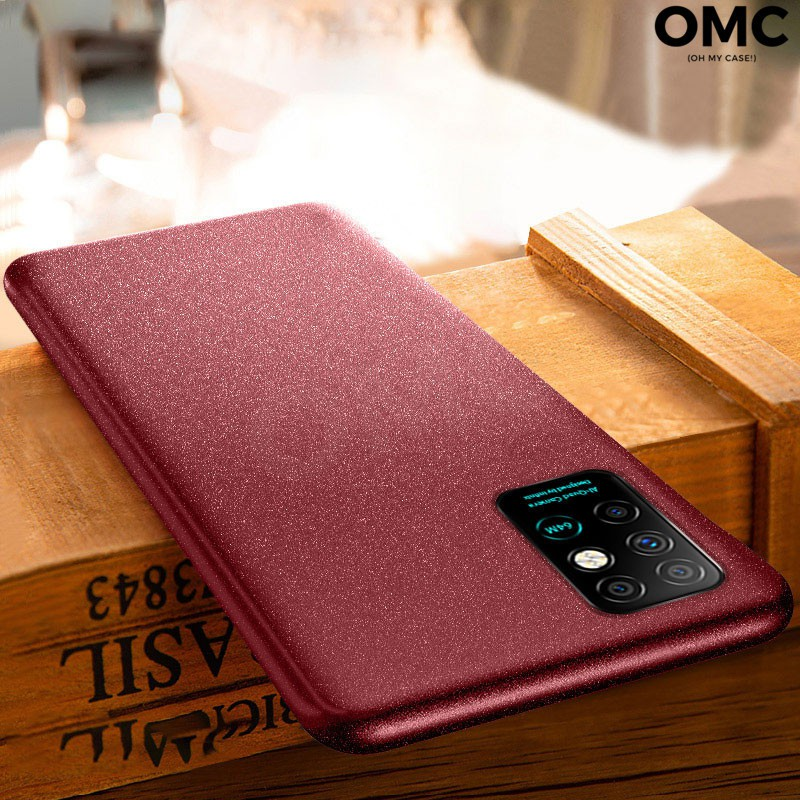 For Infinix Note 8 Sandstone Case Matte Soft TPU Ultra Thin Protective Back Cover