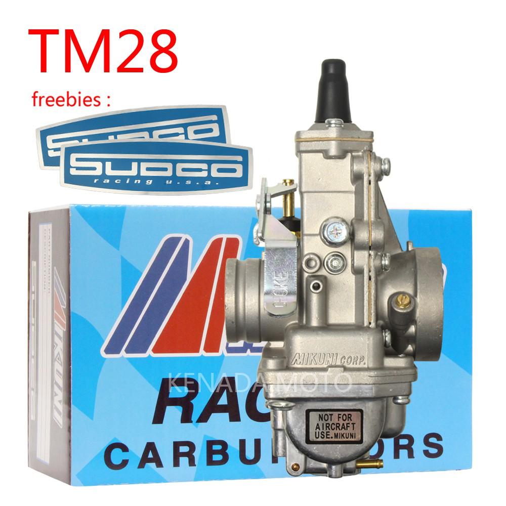 คาร์บูเรเตอร์ 28 tm 28 stands สําหรับ mikuni flatslide smoothbore carbettor vm 28-418
