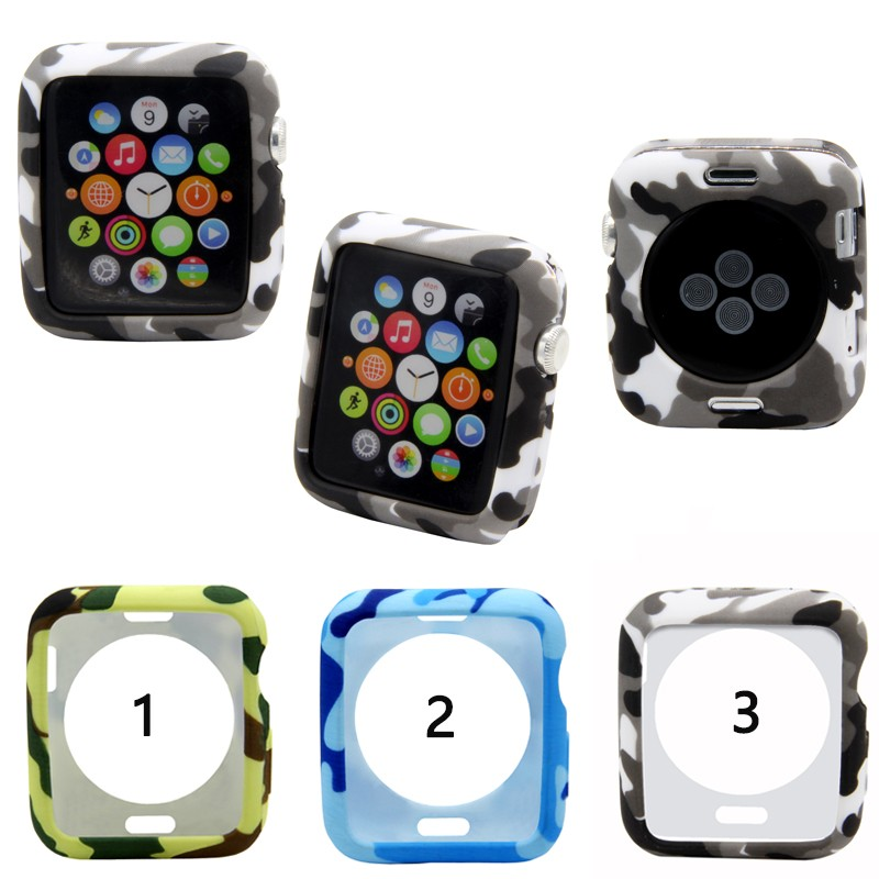 ready stock Protective Cover Case TPU Protector For Apple Watch Series 1 2 3 4 5 38mm 42mm 40mm 44mm