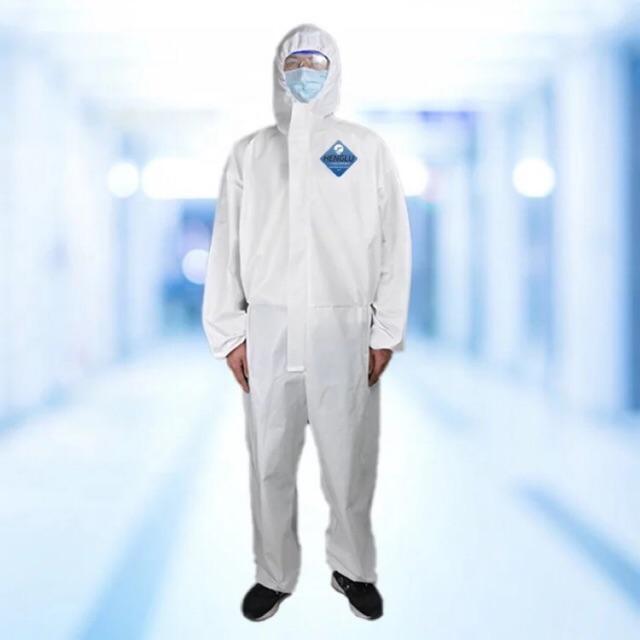 PPE ชุดทางการแพทย์ ป้องกันไวรัส/สารเคมี