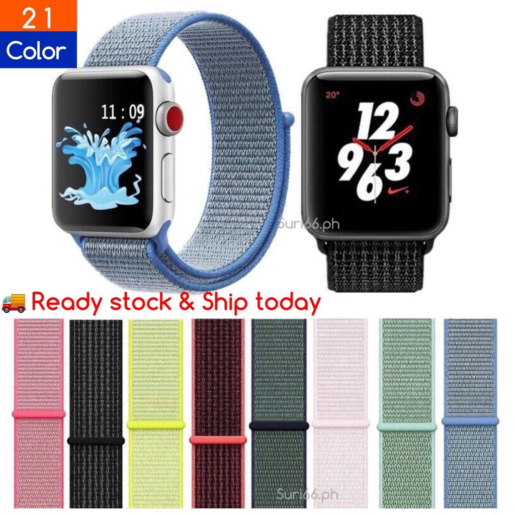 Apple Watch band series 5/4/3/2/1 สายนาฬิกาสปอร์ตแบบไนล่อน