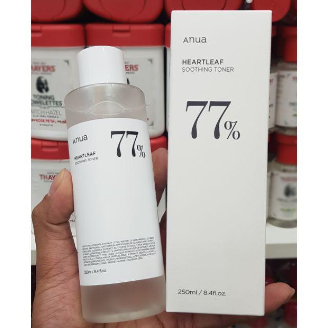 ((พร้อมส่ง/แท้💯%)) ANUA Heartleaf 77% Soothing Toner 250ml