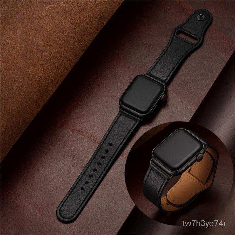 watch 1 2 3 4 56SE สายนาฬิกา applewatch สาย applewatch สาย applewatch แท้ ใช้ได้กับรุ่นหนังแอปเปิ้ล38 42 40 44สาย