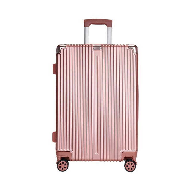 กระเป๋าเดินทาง 24 นิ้ว าล้อลาก PC+ABS กรอบอลูมิเนียม แข็งแรง