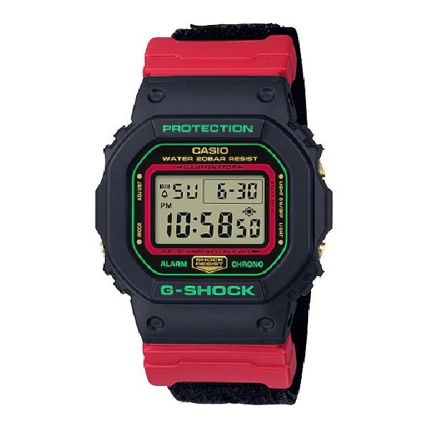 G-SHOCK นาฬิกาข้อมือผู้ชาย รุ่น DW-5600THC-1DR *สินค้าแท้ รับประกัน cmg 1 ปี