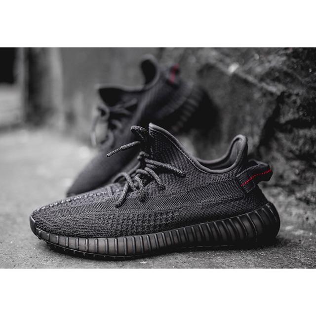 "Adidas Yeezy boost 350 v2 "" Static black"""