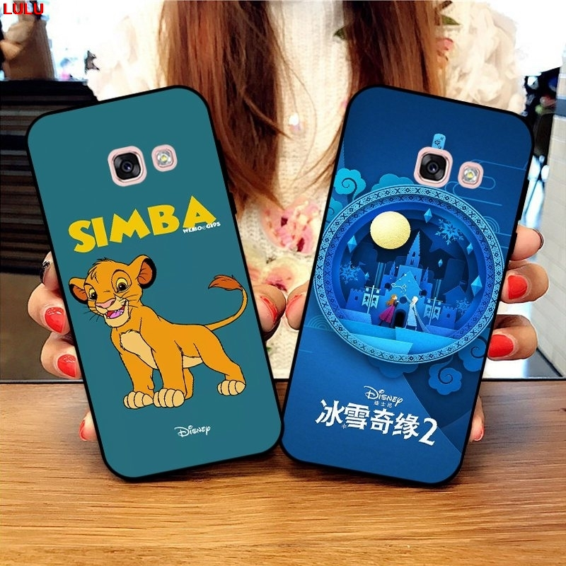 Lulu-For  Samsung A3 A5 A6 A7 A8 A9 Pro Star Plus 2015 2016 2017 2018 HDSN Pattern-6 Silicon Case Cover