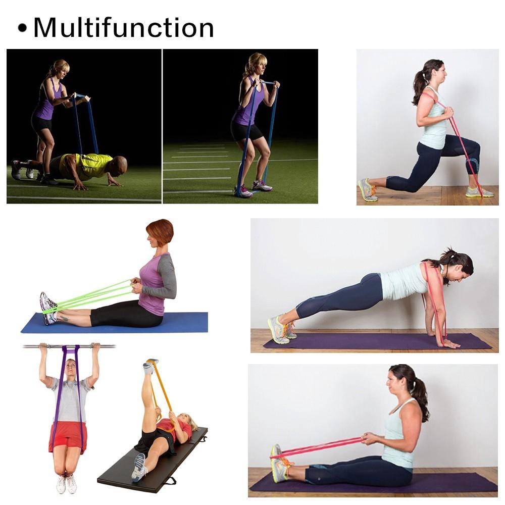 ยางยืดออกกำลังกาย  แบบวงกลม ยืดออกกำลังกาย ยางยืดแรงต้าน  ยางยืดออกกำลังกายแรงต้านสูง
