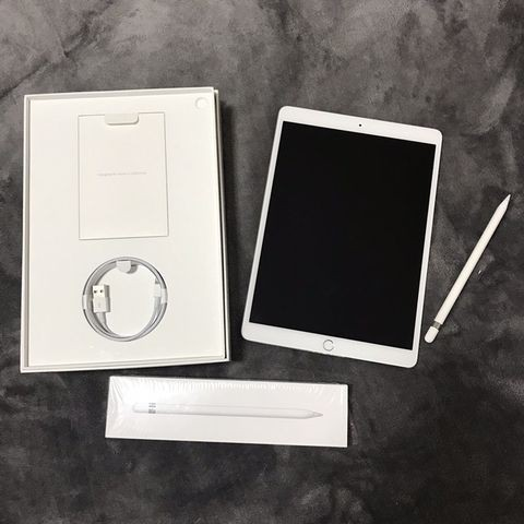 IPad Pro 10.5 256 GB Cellular+WiFi รุ่นล่าสุด สี ดำ+ ยังอยู่ในประกันอีกนาน + Apple Pencil
