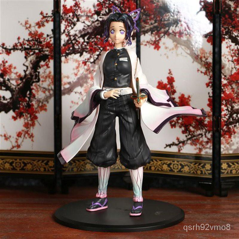 17cm Anime Demon Slayer: Kimetsu no Yaiba Kochou Shinobu Rengoku Kyoujurou VC Action Figure Collection Model Toys Brinqu