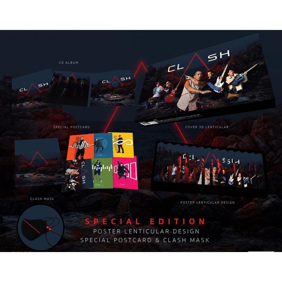 Clash : Loudness (BOX SET)(CD)(เพลงไทย)
